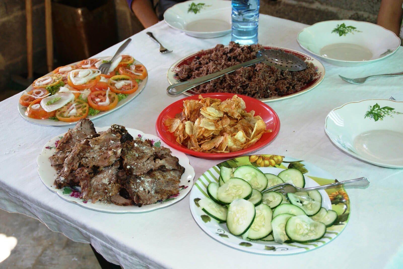 Cubaanse maaltijd