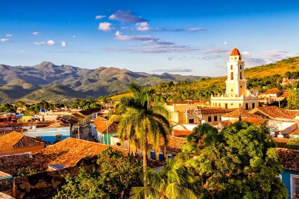 Vista panorámica de Trinidad CubaNeo Travel Agencia de viajes a Cuba