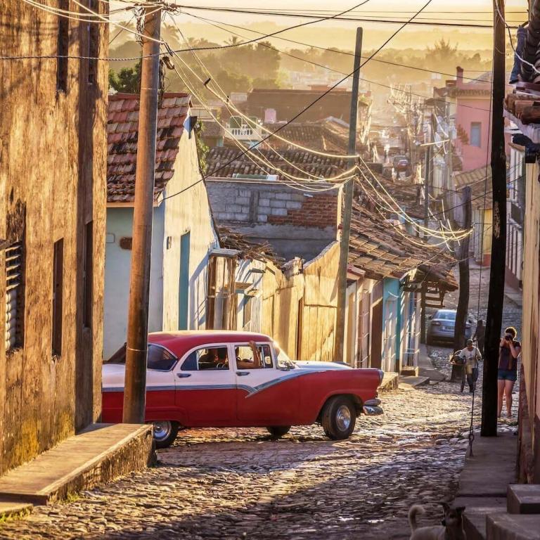 Rondreis per oldtimer Chevrolet Cuba
