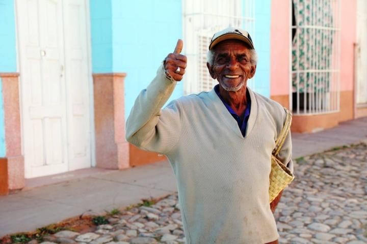 Cubaan in Trinidad Cuba