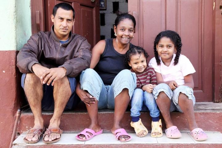 Cubaanse familie