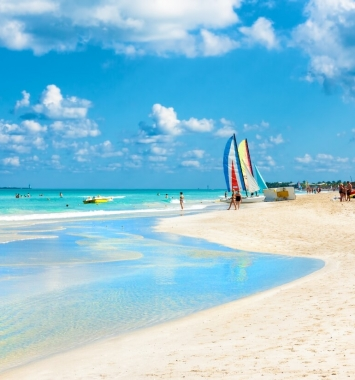 playa de Varadero viajar a Cuba con niños