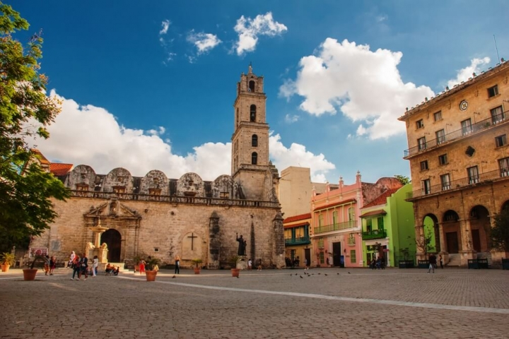 Plaza San Francisco de Asis La Habana Vieja