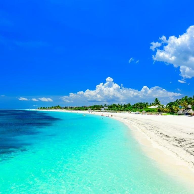 Strand in Cuba