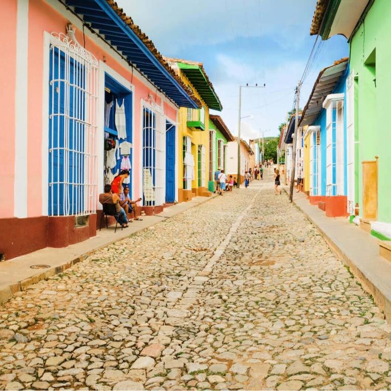 Straatje Trinidad Cuba