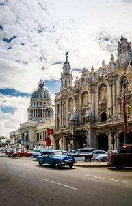Calle Paseo y Gran Teatro de La Habana. Cosas que hacer en La Habana, Cuba