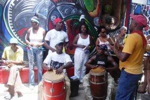 Ceremonia de la Religion Yoruba en Cuba