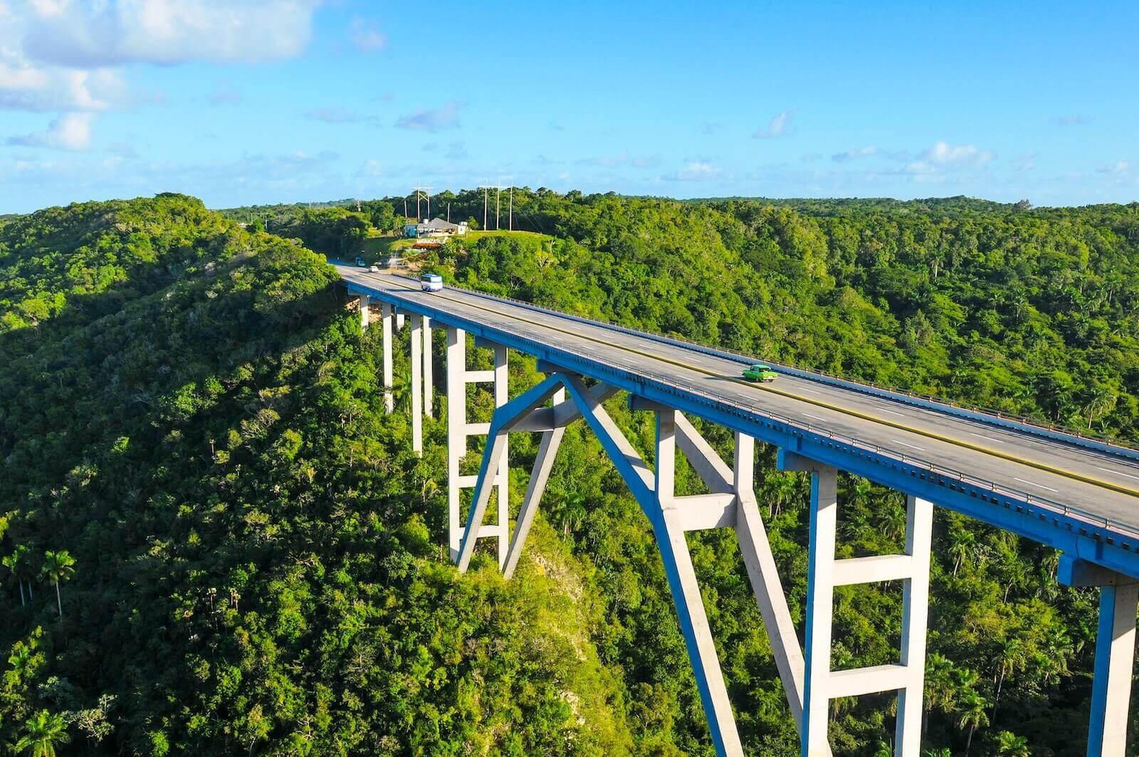Puente de Bacunayagua in Matanzas Cuba