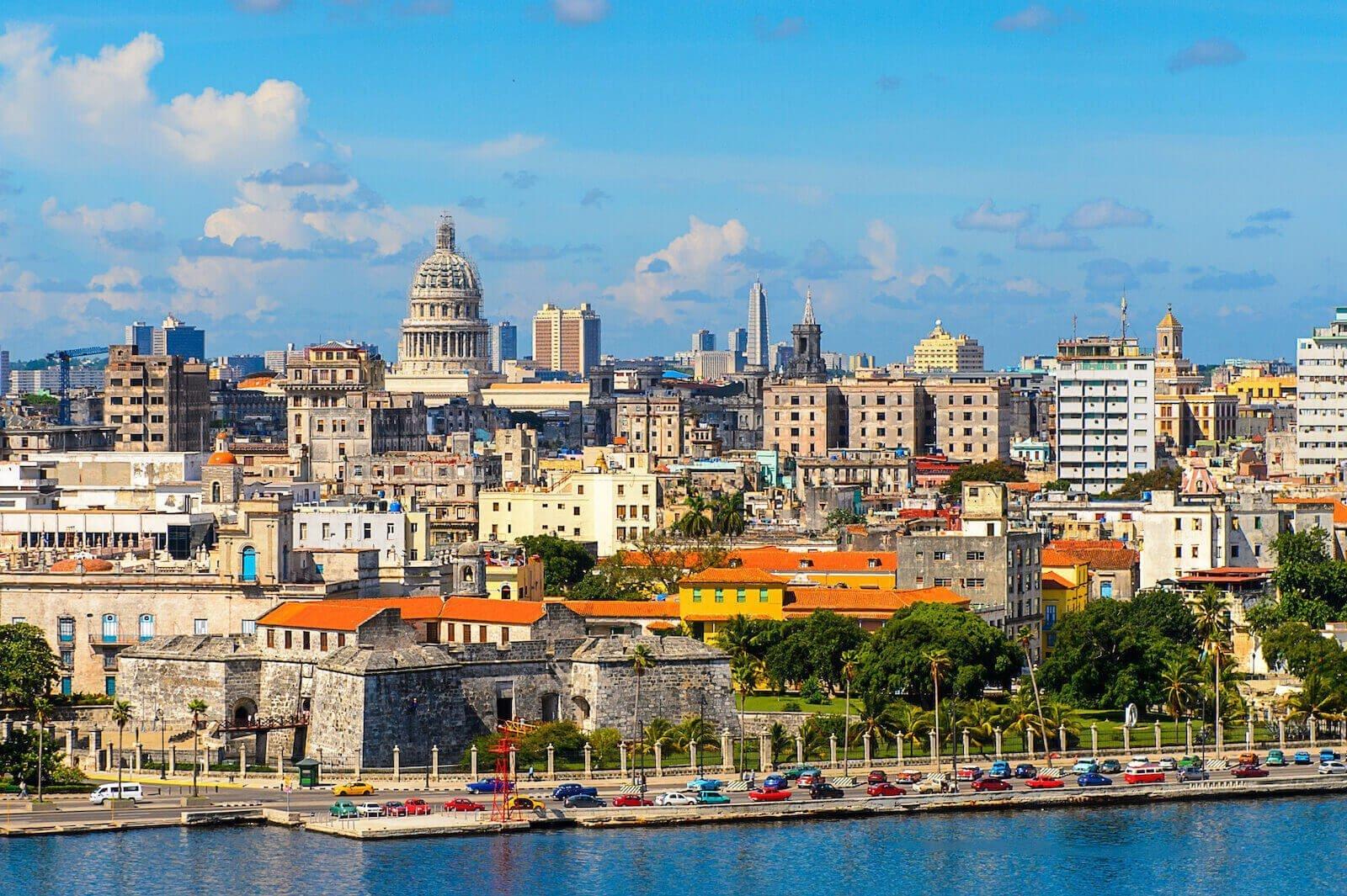 Uitzicht over Havana Cuba